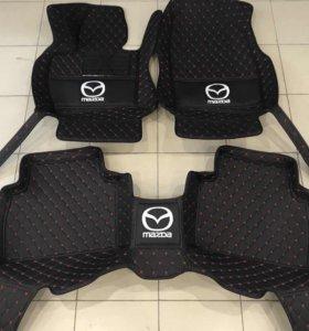 3D автоковрики премиум класса для Mazda CX 5