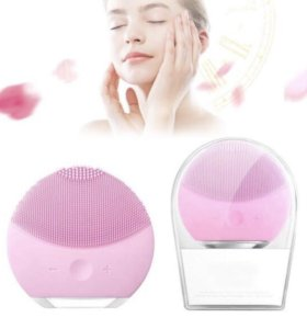 Электронная массажная щетка для лица
