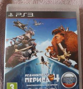 ИГРА НА PS3 Ледниковый период 4