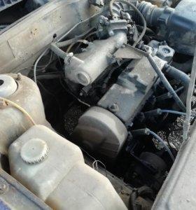 Мотор с коробкой и навесным 2114