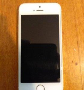 Продам iPhone 5s 16g silver
