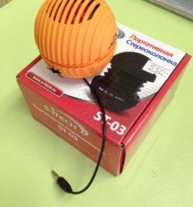 Колонка MP3, TFcard, AUX