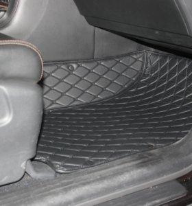 3D автоковрики премиум класса для Nissan Patrol
