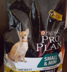 Корм Purina pro plan small mini курица 3кг