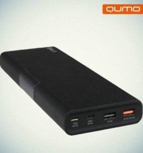 Портативное зарядное устройство 26000 qumo