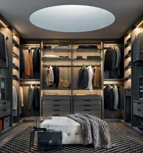 Мебель на заказ (индивидуальные проекты)