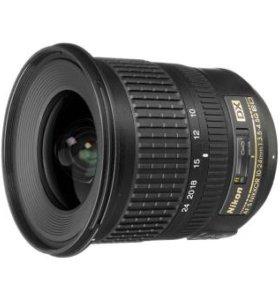 Объектив nikkor 10-24mm f/3.5-4.5G ED