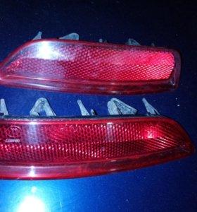катафоты заднего бампера Opel Astra H Gtc