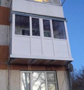Пластиковые окна и балконы, входные и межкомнатные