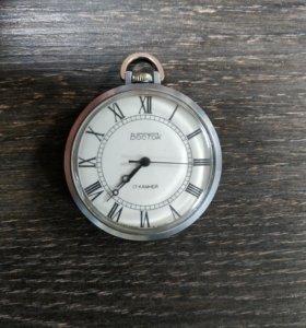 Часы карманные Восток 17 камней.Обмен.
