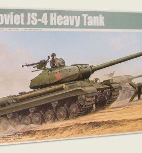 ИС-4 советский тяжёлый танк