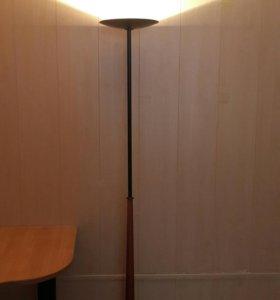 Лампа напольная старинная