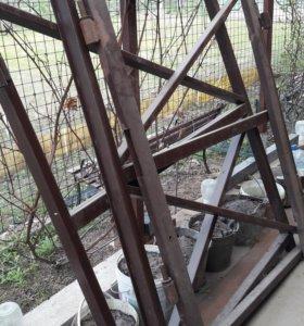 Каркас ворот по цене металла