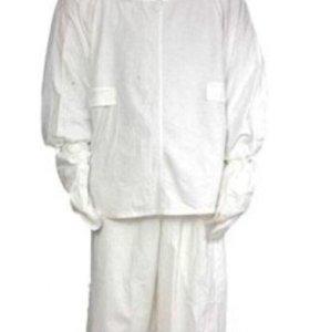 Маскировочный костюм, б/у, белый, размер 3.