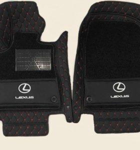 3D автоковрики премиум класса для Lexus RX - 300