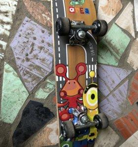 Скейтборд детский трюковой