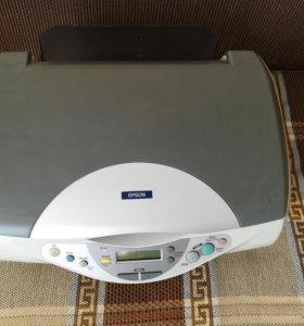 Принтер- сканер epson
