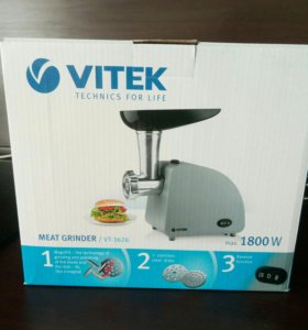 Мясорубка новая Vitek vt-3626