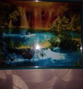Картины и картины по фото алмазная мозаика