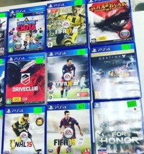 Игры на Sony PlayStation 4