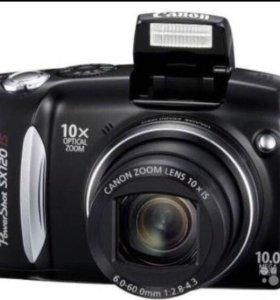Фотоаппарат Canon PowerShoT SX120 IS + подарок Pow