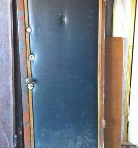 Стальная утепленная дверь