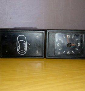 Часы и сигнализатор для ваз 2110-2112