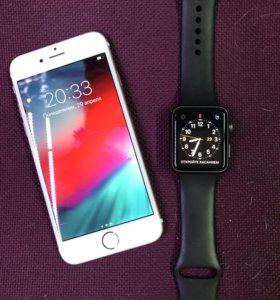 Iphone 6s 64gb+Apple Watch