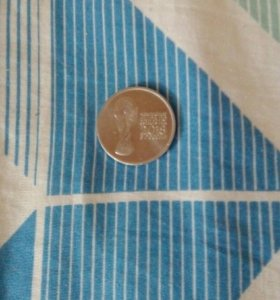 Монета фифа 2018