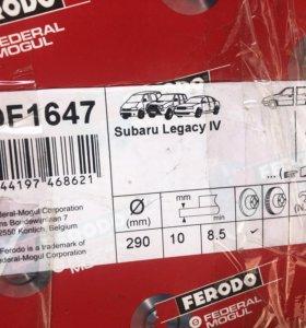 Диски тормозные Ferodo DDF1647