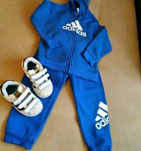 Фирменный костюм Adidas+фирменные кросовки Adidas