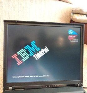 """IBM ThinkPad T43 14,1"""" на запчасти"""