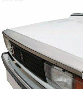 Новый Спойлер ВАЗ 2106 Voron Glass хром