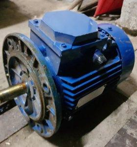 электродвигатель АИР80в4УЗ 1.5 кВт 1410 об/мин