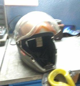 Шлем снегоходный Bv2s с электроподогревом