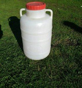 Фляга канистра (бочка) пластиковая