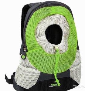 Переноска-рюкзак Crazy Paws для собак, кошек до 3к