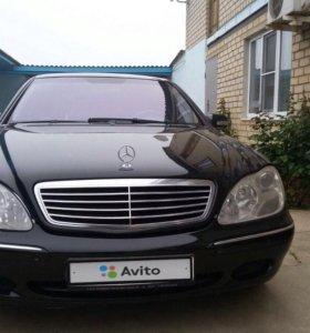 Mercedes-Benz S-Класс, 2002