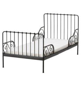 Раздвижная кровать Миннен + матрас