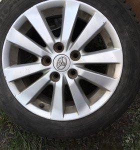Литьё Corolla Camry на 16