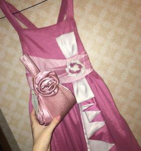 Платье и сумочка