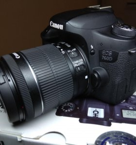 Canon 760d + Canon 18-55 IS STM