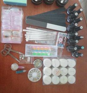 Материалы для наращивание ногтей
