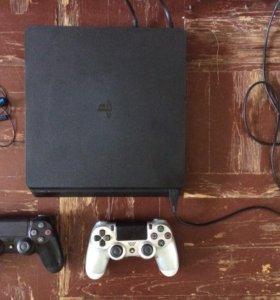 PlayStation 4 (ps4) 500gb 2 геймпада