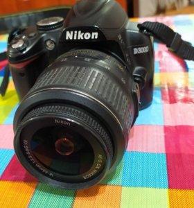 Зеркальный фотоаппарат nikon d3000 18-55vr