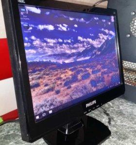 """15,6"""" LED 16:9 ЖК монитор Philips 160EL1SB/62"""