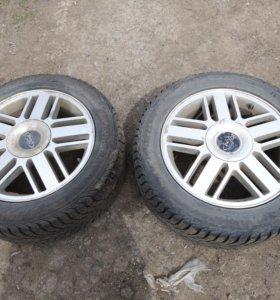 Комплект колес на Ford Focus 2