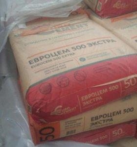 Стройматериалы: цемент Старовеличковская доставка