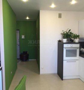 Квартира, 1 комната, 43.3 м²
