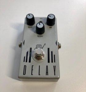 Гитарная педаль Delay на основе Deep Blue